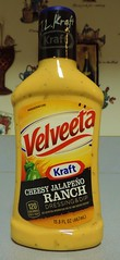 Velveeta Cheesy Jalapeno Ranch Dressing and Dip