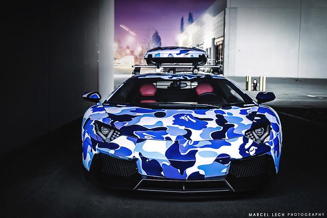 Bape Aventador