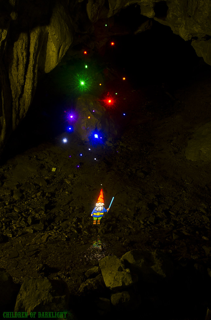 Gnome in the cave I