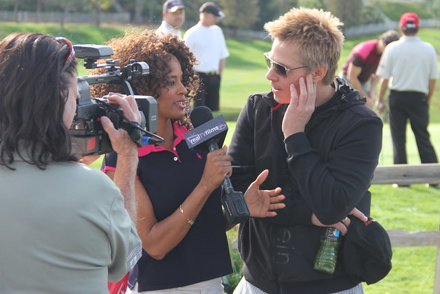 Germany Kent, Kato Kaelin, Celebrity Golf
