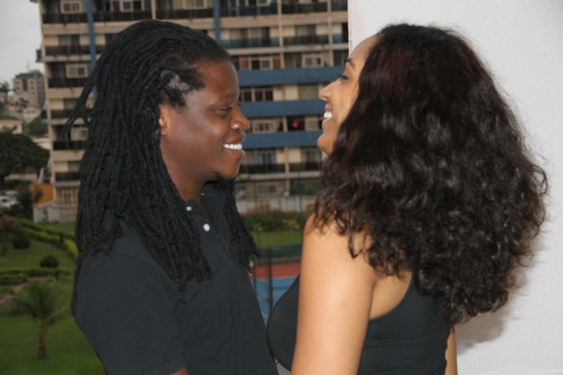 Juliet Ibrahim and General Pype