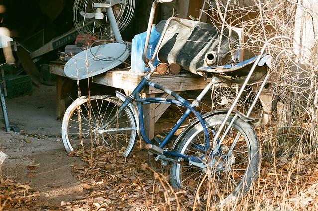 old schwinn abandoned