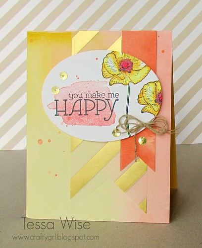 Happy Flowers Card 1
