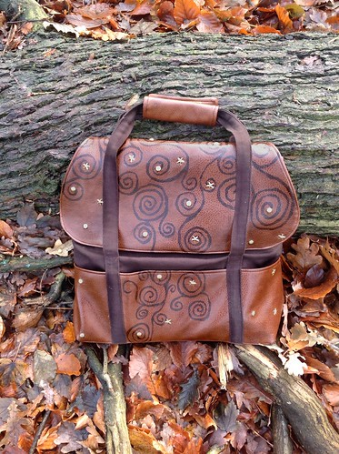Cooper bag by colette patterns. by snowwhiterosesred
