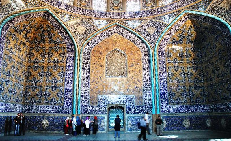 81 Mezquita Sheikh Lotfollah en Isfahan (11)