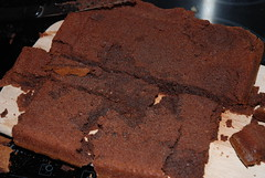 baking, chocolate cake, torta caprese, baked goods, food, chocolate brownie, dessert, chocolate,