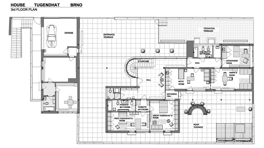 11502211296_1ef7566a4f_b Tugendhat House Floor Plan Diions on