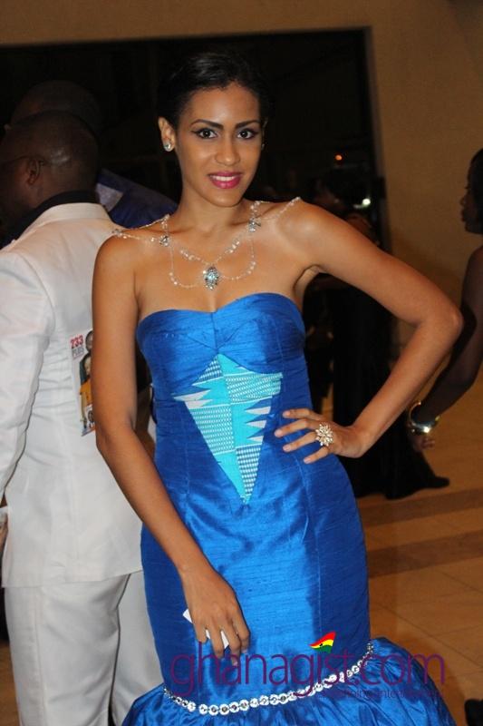 Sonia Ibrahim at Ghana Movie Awards 2013