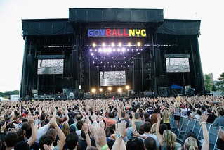 Gov Ball NYC Stage. 6.8.13