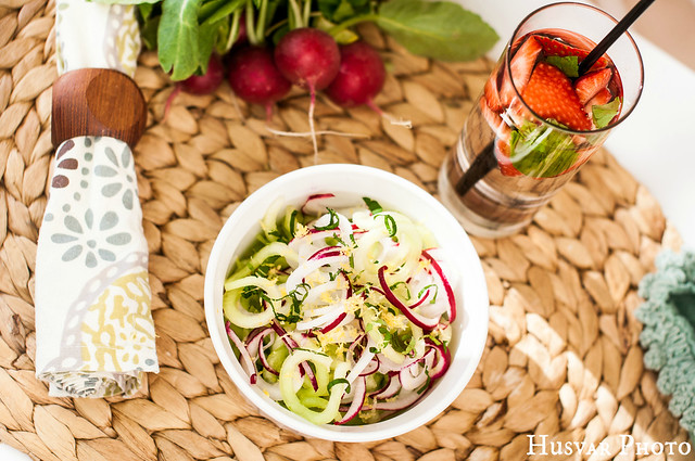 cucumber melon radish spiralized salad in_the_know_mom #simplestart