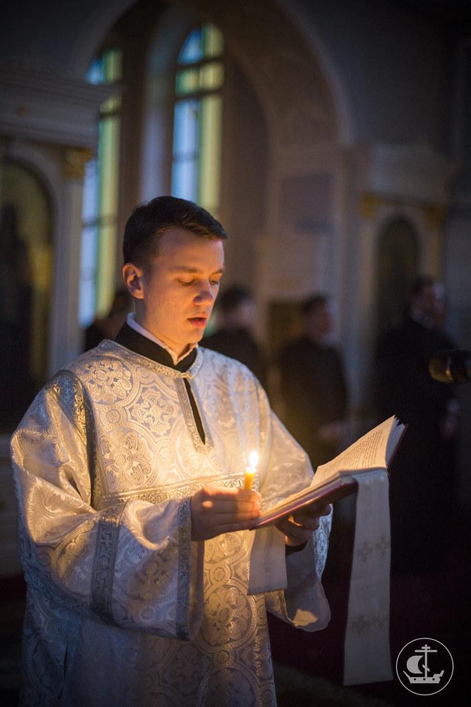 17 января 2014, Богослужение накануне Навечерия Богоявления