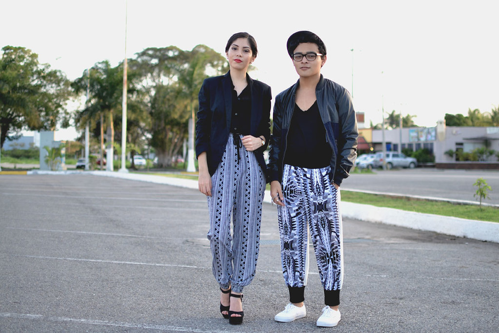 I&I Printed Pants