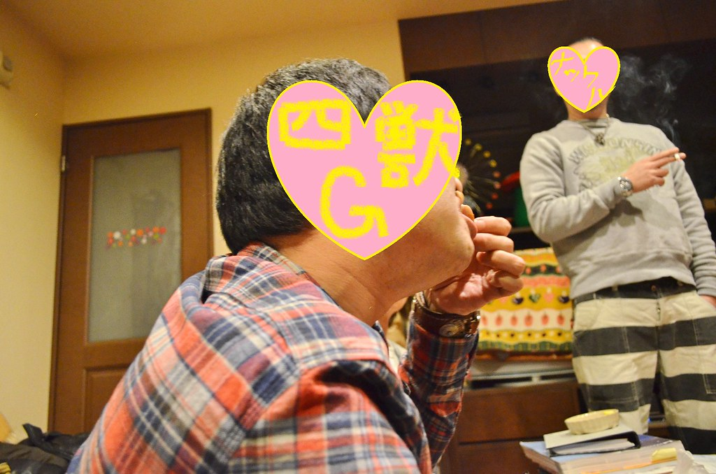 Gさん誕生日サニー家ギター教室。 (4)-1