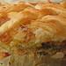 Hojaldre de espárragos trigueros para los hambrientos. Green Asparagus with puff pastry. by bego vega