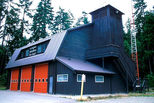 Errington Volunteer Fire Department, Errington, Vancouver Island, British Columbia