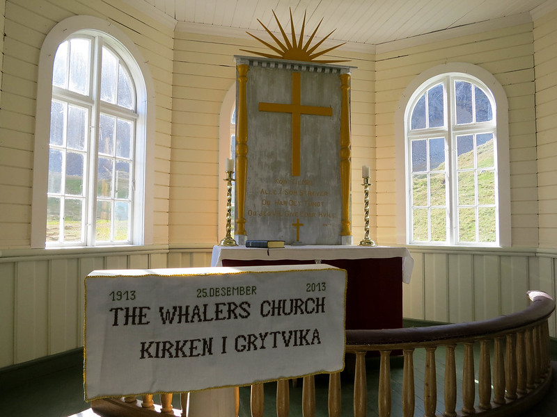 Whaler's Church in Grytviken, South Georgia