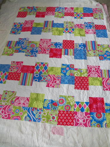 Spin Panto on quilt by @Alli518