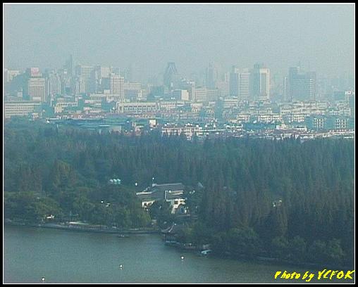 杭州 西湖 (其他景點) - 345 (從西湖十景之 雷峰塔上鳥瞰西湖十景之 柳浪聞鶯及市區)