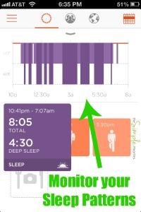 misfit wearables shine sleep monitoring