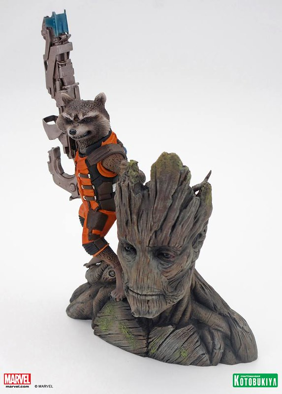 Kotobukiya-Guardians-of-the-Galaxy-Rocket-Raccoon-ARTFX-Statue-006