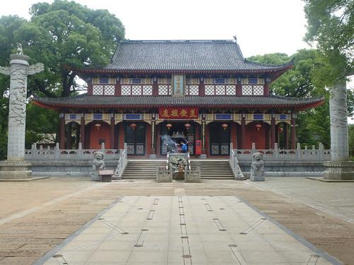 Jiangxi-Longhu Shan-2 Shangqing-temples taoistes (16)