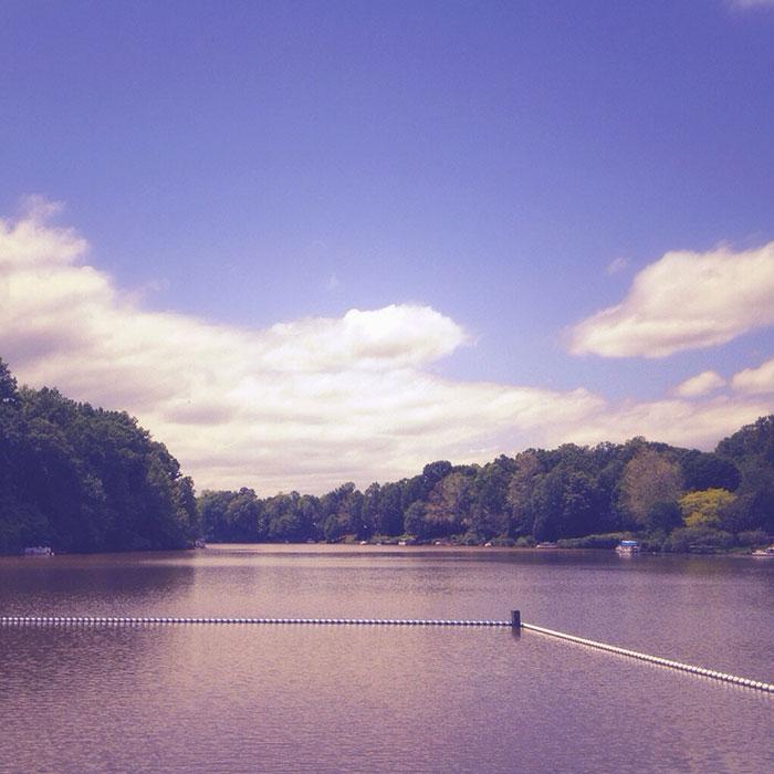 May at the lake
