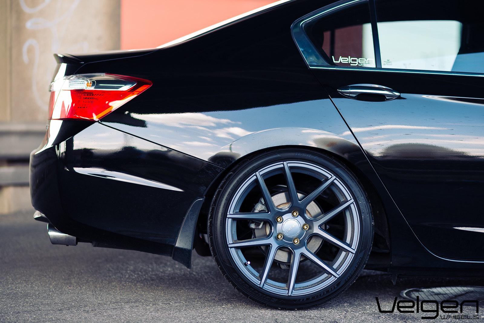 CBP Accord on gunmetal Velgen VMB5 - Drive Accord Honda Forums