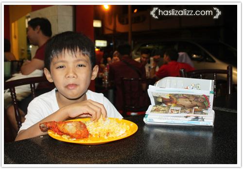 14115682751 72e946e8e8 o restoran kapitan penang | roti naan cheese dan nasi briani ayam tandoori  yang sedap