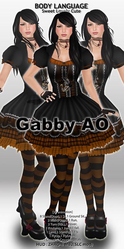 Gabby AO set