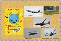2013.06 FRANCE - LE BOURGET - 50° Salon Aéronautique - Exposition