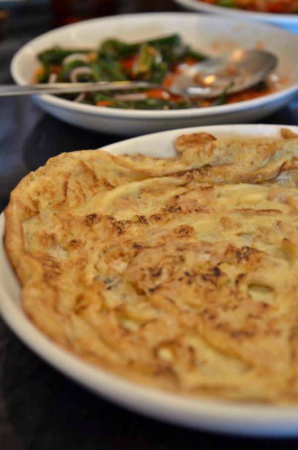 Choy Pou Egg Omelette