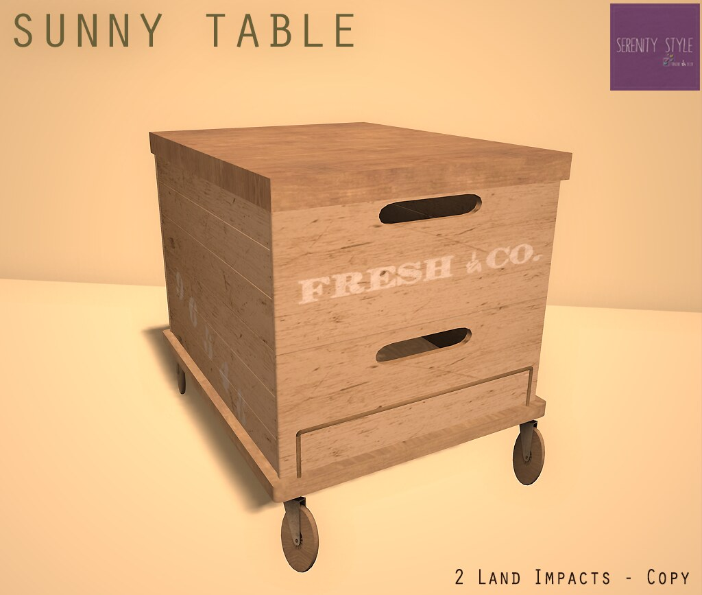 SUNNY TABLE GIFT
