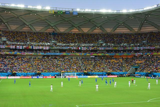 Manaus - England Vs Italy