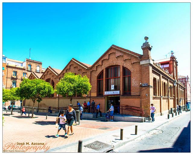 Madrid. Mercado de Tirso de Molina