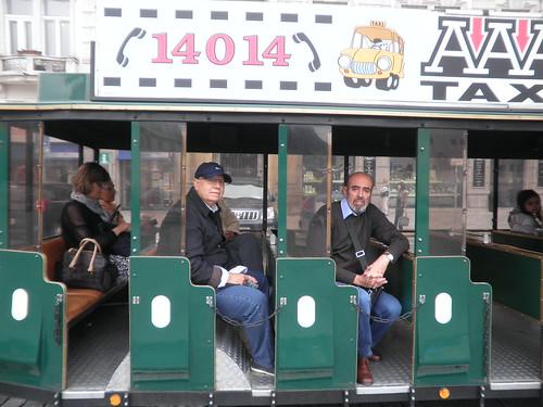 Tren turístico en Praga