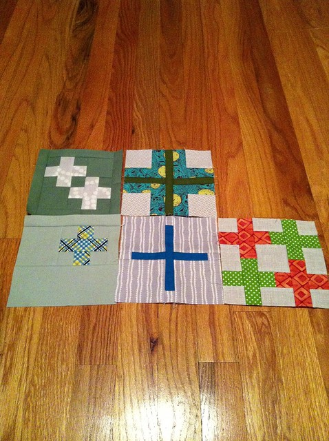 Tula Sampler blocks
