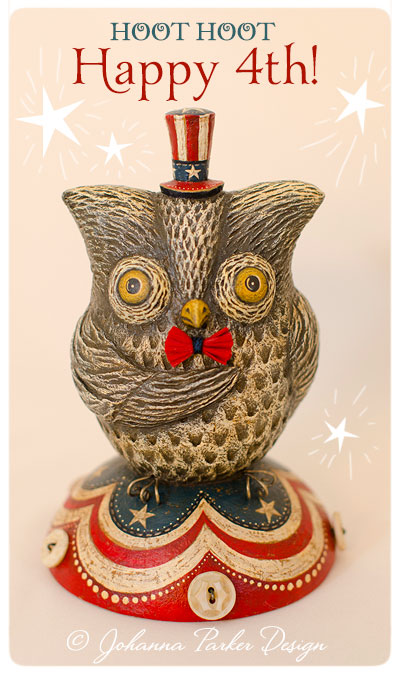Happy-4th-Owl-Johanna-Parker-Design