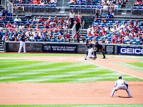 Chicago Cubs @ Nationals, July 4th 2014