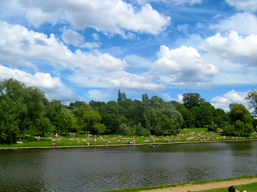 Hampstead Heath on a Gorgeous Warm Day