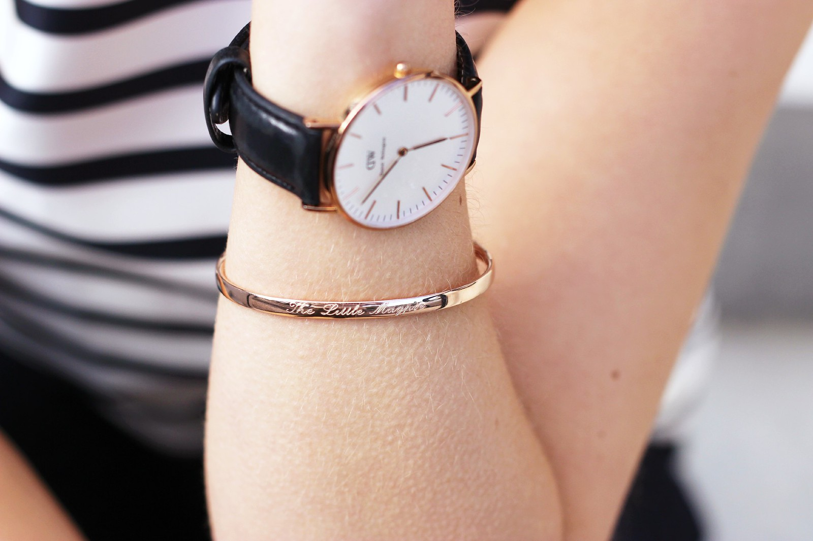 Monica Vinader rose gold bracelet 3