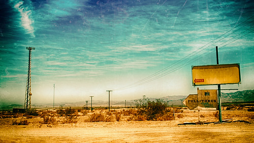 california old sky hot tower dusty abandoned sign clouds landscape wire sand nikon desert rich dirty dirt coachellavalley weathered d200 roadside dust telephonepole hdr saltonsea odc riversidecounty highway111 negleted hbmike2000 corvinaestatesrvpark