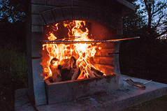 masonry oven, fireplace, fire, flame, hearth,