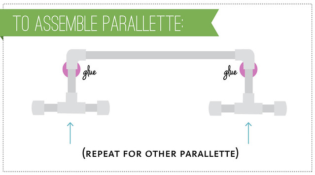 DIY CrossFit Parallettes - Kohler Created