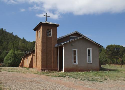 Nuestra Señora De Guadalupe Catholic Church, Glorieta, NM