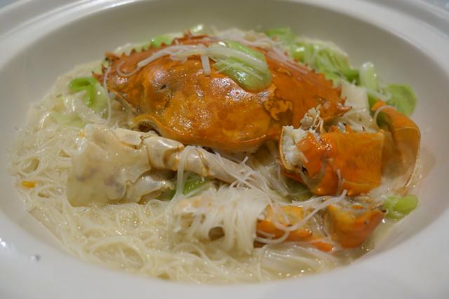 Braised Vermicelli with Crab & Whole Garlic - Man Fu Yuan's 19th Anniversary Menu