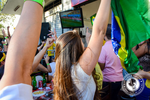 Cheering for the World Cup
