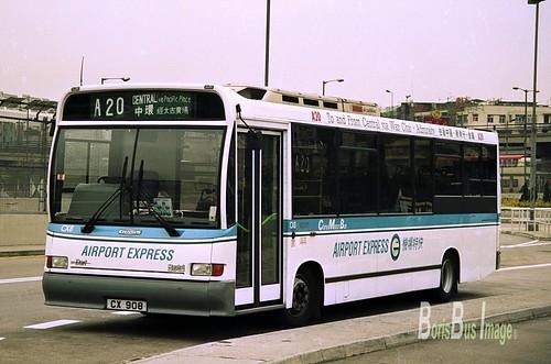 N266-25 CX8 CX908 Dennis Dart 9.8m 27Jan1996