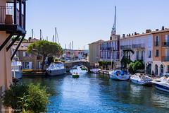 Cité lacustre de Port-Grimaud Août 2016