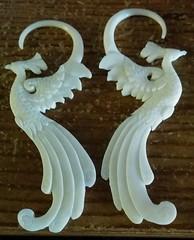 bird earrings!