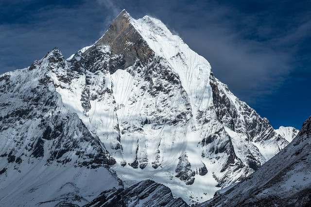 Machapuchare (6,993 m) from Annapurna Base Camp